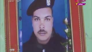 أرملة أحد شهداء حادث العريش الإرهابي تكشف وصيته