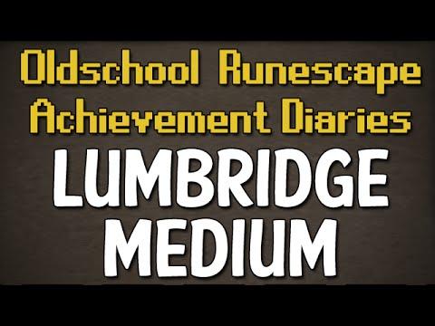 Lumbridge/Draynor Medium Achievement Diary Guide | Oldschool Runescape