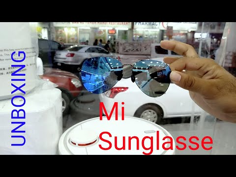 Hindi | Mi Sunglasses Unboxing hands on Available In Dubai Awais Star Shop