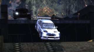 NFS Most Wanted - What Happens If Your Car is NOT Fast Enough to Make the Jump?
