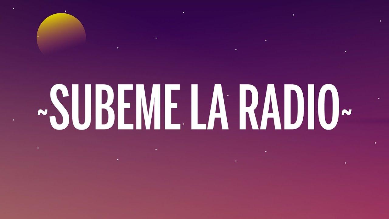 Download Enrique Iglesias - SUBEME LA RADIO (Letra/Lyrics) ft. Descemer Bueno, Zion & Lennox
