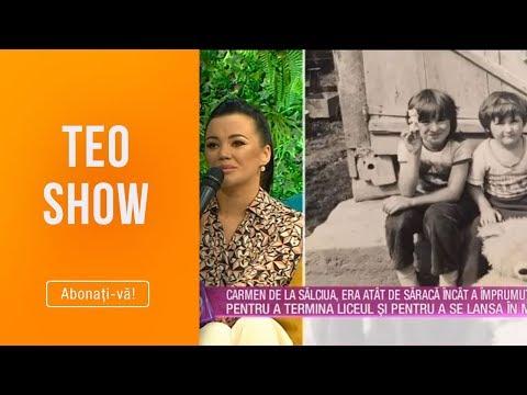 Teo Show (13.03.2019) - Carmen de la Salciua imprumuta bani pentru a termina liceul si...