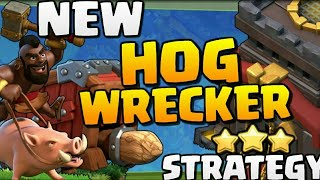 Th10 SEIGN HOG ATTACK STATERGY | HOG RIDER 360° | POST UPDATE | CLASH OF CLANS