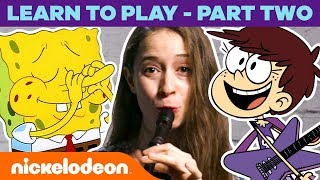 """Ripped Pants"" & ""Play It Loud""  🎵 How To Play SpongeBob & Loud House Songs Pt 2 