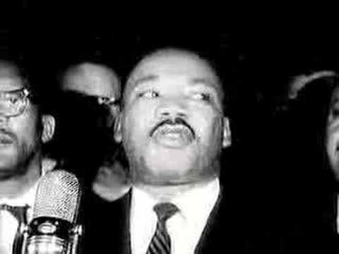Dr. King on the Selma March
