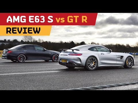 E63 S vs AMG GT R!! Drag Race, Track & Drifting! - REVIEW