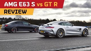 E63S REVIEW Against the AMG GT R! Drag RACE, Track & Drifting!