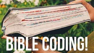 NEW BIBLE TREND: How to Washi Tape Code Your Bible!