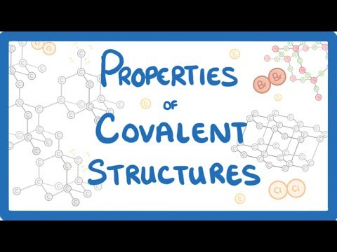 GCSE Chemistry - Properties of Simple Molecular Substances & Giant Covalent Structures  #15