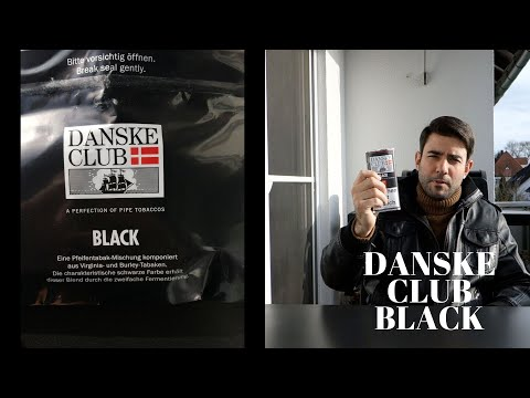 Pfeifentabak : Danske Club Black