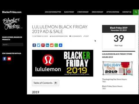 Lululemon's Black Friday Sale Is Here