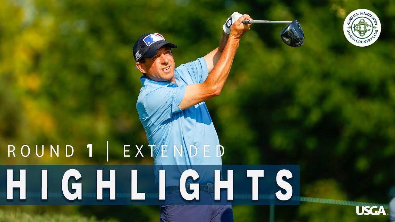 2021 U.S. Senior Open Highlights: Round 1, Extended