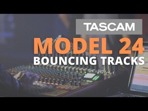 TASCAM Model 24   Bouncing Tracks