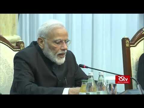 PM Modi holds delegation level talks with Kyrgyzstan President Sooronbay Jeenbekov