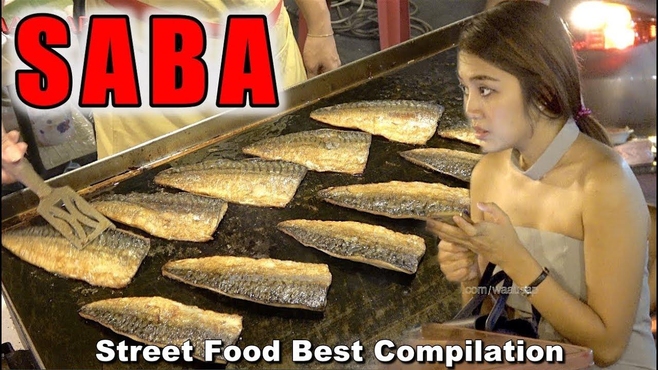 Street Food Best! Compilation - Mackerel Dancing, Japanese Crepe, Chicken fried Ep8