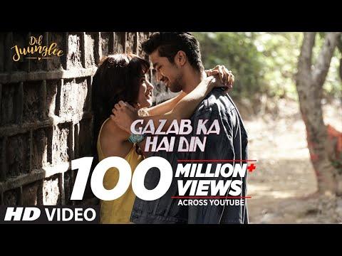 Gazab Ka Hai Din Video | DIL JUUNGLEE | Jubin Nautiyal Prakriti Kakar | Taapsee Pannu | Saqib Saleem