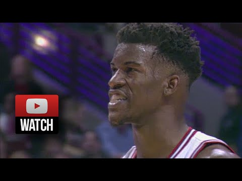 This was the moment Jimmy Butler broke out and turned into a star from a role player