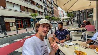 Centrum van Bilbao bezoeken is machtig 🔥