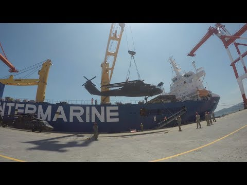 TIMELAPSE:  US Military Sealift Command Ships Conducted Backload After Balikatan