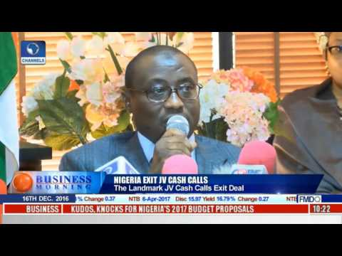 Business Morning: Nigeria Ends JV Cash Calls