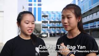 SEA Games 2015 Victory Ceremonies: St Anthony's Canossian Sec School Girls