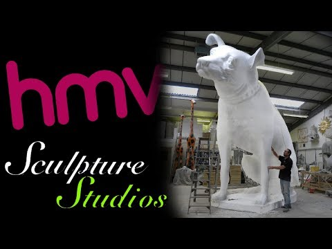 Nipper the Giant HMV Dog by Sculpture Studios