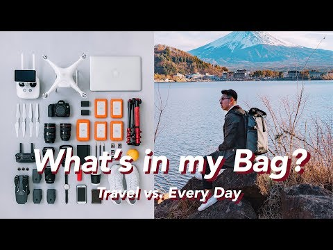 What's In My Camera Bag? Travel Vs. Everyday