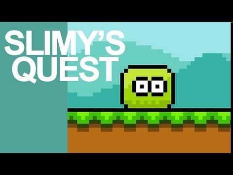 Stencyl Game Engine: Slimey's Aventure (2017)
