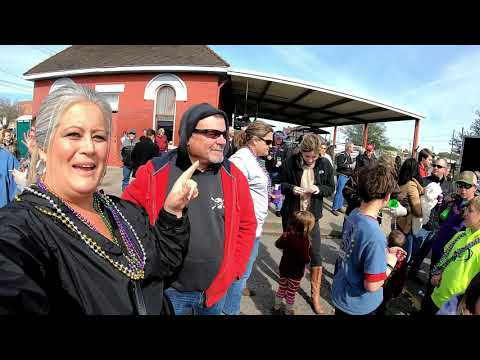Mardi Gras Small Town Style Crowley LA. RV Living And Life Vlog