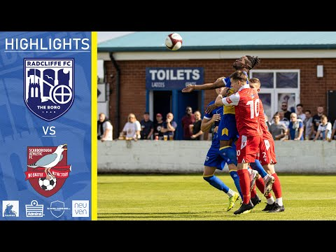 Radcliffe Scarborough Goals And Highlights