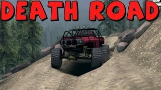 Spin Tires | K5 Blazer Rock Crawler vs The Death Road!