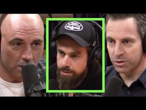 Joe Rogan & Sam Harris Dissect the Jack Dorsey Podcast
