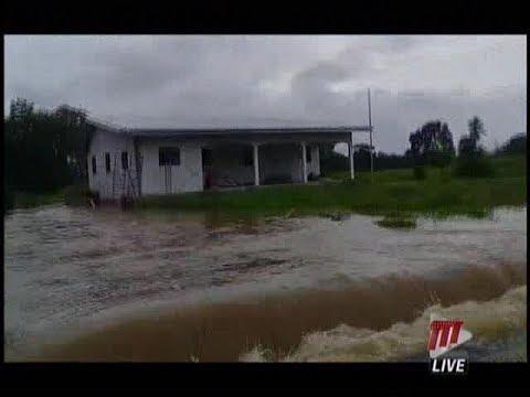 Communities Come Under Severe Flooding As Heavy Rains Persist
