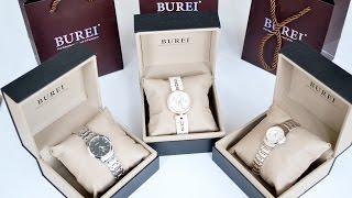 Обзор на женские часы бренда Burei | Распаковка Amazon | Watches | Как выбирать часы