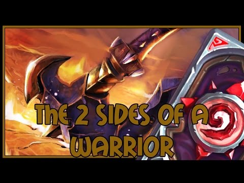Hearthstone: The 2 sides of a warrior (jade druid)