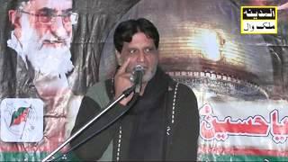 Zakir Syed Zaigham Abbas Shah.25.02.2015 Kalowal part1