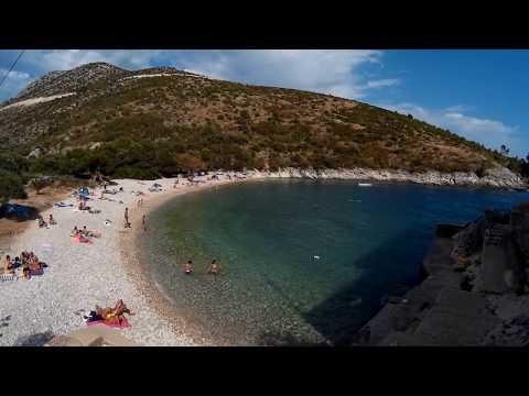 Bay & beach Dubovica, Hvar, Croatia.
