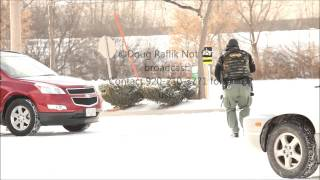 Police standoff in Fond du lac Wisconsin