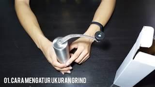 Cara menggunakan hand grinder