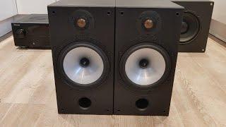 Monitor Audio MR2 + SMSL Q5 PRO + Bass I Love You