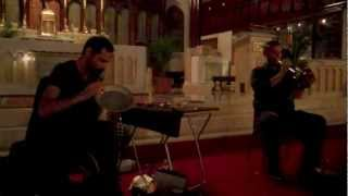 Nate Wooley, Mazen Kerbaj @ Our Lady of Lebanon Cathedral, Brooklyn 9-19-12