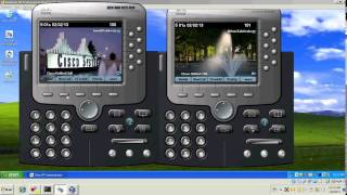 CCNA VoIP GNS3 Simulation