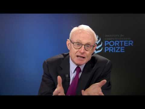Keynote by Michael E. Porter at the Porter Prize 2016