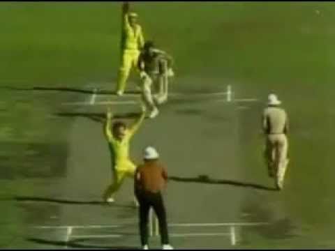 Underarm Incident in 1981 Aus Vs NZ (most disgraceful moment in cricket history)
