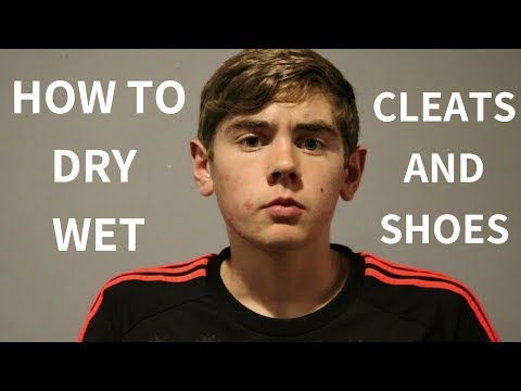 How to Dry Wet Cleats and Shoes | Halfzico Nick