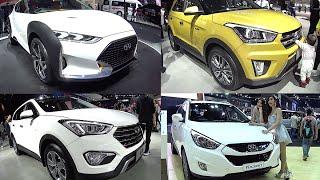 TOP Hyundai SUVs 2016, 2017 Hyundai IX25, Enduro, Tucson, Santa Fe, Veloster 2016, 2017