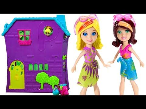 Polly Pocket Güzel Bir Gün | Barbie Rock Star | EvcilikTV Çizgi Film Tadında Evcilik Oyunu
