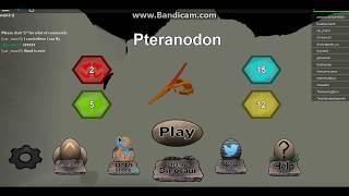 gio playing roblox dinosaur simalator
