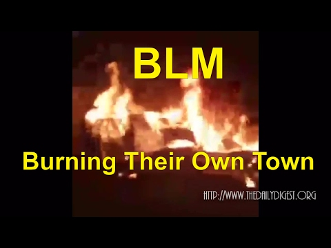 Raw: Milwaukee Morons (BLM) Destroys Their Own Town