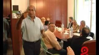 TVALFA - LICATA 01/10/09 - DEDALO AMBIENTE: GRACI NERVOSO MINACCIA DI LASCIARE L